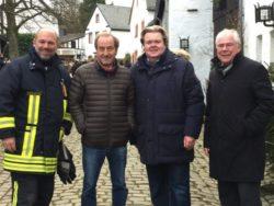 Besuch Klaus Voussem in Kronenburg