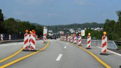 Die Bauarbeiten an der B 51 und die geplante Umleitung